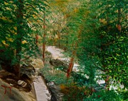 Fort Collins Painting Posters - South Trail Cache la Poudre Poster by Troy Thomas