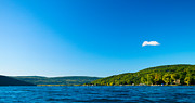 South View Of Canandaigua Lake Print by Steve Clough