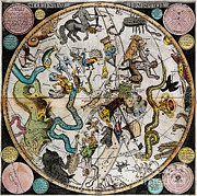 Wellcome Images - Southern Celestial Planisphere 1790