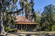 Red Roof Photos - Southern Comfort by Debra and Dave Vanderlaan
