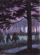 Ashcan School Paintings - Southern Dusk by Arthur Barnes