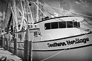 Shrimp Boat Prints - Southern Heritage 1 Print by Patrick M Lynch