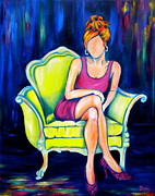 Fashion Painting Originals - Southern Living by Debi Pople