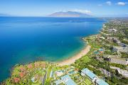 Southern Maui Coast Print by Quincy Dein
