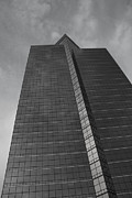 Architectur Metal Prints - Southfield Hi Rise Black and White Metal Print by Bill Woodstock