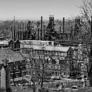 Bethlehem Metal Prints - Southside Metal Print by DJ Florek
