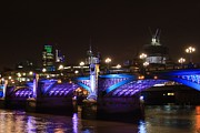 Mile 122 Prints - Southwark Bridge Print by Ash Sharesomephotos