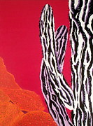 Leopard Print Paintings - Southwest Contemporary Art - The Wild Wild West by Karyn Robinson