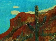 Arizona Memories Paintings - Southwest Memories by Anne-Elizabeth Whiteway