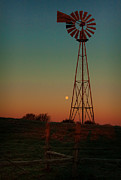 Moonscape Prints - Southwest Morning Print by Robert Frederick