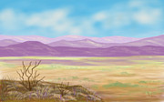 Twiggy Prints - Southwest Panorama Print by Ellie Taylor