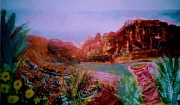 Pottery Paintings - Southwestern Memories Live On Forever by Anne-Elizabeth Whiteway