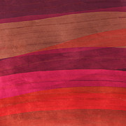 Southwestern Sunset Abstract Print by Bonnie Bruno