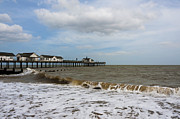 Natural Ocean Life Framed Prints - Southwold Pier Framed Print by Svetlana Sewell