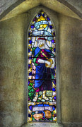 Stained Glass Window Photos - Soweth The Word by Ian Mitchell