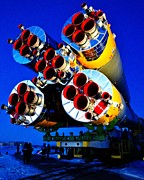 Kazakhstan Prints - Soyuz Spacecraft Print by Benjamin Yeager