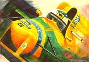 Automobilia Paintings - Spa by Robert Hooper