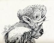 Space Alien Print by Whistler Kenworthy