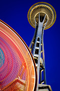 Inge Johnsson - Space Needle Color Wheel