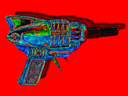 Bullet Prints - Spacegun 20130115v1 Print by Wingsdomain Art and Photography