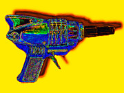 Shooters Posters - Spacegun 20130115v2 Poster by Wingsdomain Art and Photography