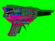 Shooters Posters - Spacegun 20130115v3 Poster by Wingsdomain Art and Photography