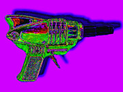 Shooters Posters - Spacegun 20130115v4 Poster by Wingsdomain Art and Photography