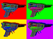 Shooters Posters - Spacegun Four 20130115 Poster by Wingsdomain Art and Photography