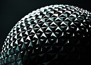 Geodesic Prints - Spaceship Earth Print by Benjamin Yeager