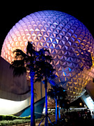 Geodesic Prints - Spaceship Earth Print by Greg Fortier