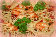 Barbara S Nickerson - Spaghetti With Shrimp