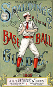 Baseball Digital Art Posters - Spalding Baseball Ad 1189 Poster by Unknown