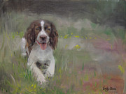 Emily Olson - Spaniel At Rest