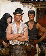 Famous Artists - Spanish Blacksmiths by Ernst Josephson