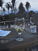 Meal Paintings - Spanish Evening by Cathal Gallagher