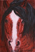 Quarter Horses Originals - Spanky by Wendi Evans