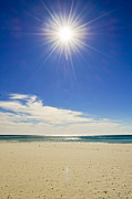 Panama City Beach Prints - Sparkle Print by Elbe Photography