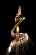 Hot Wax Prints - Sparkling Light Print by Tim Gainey
