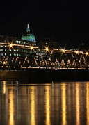 Susquehanna River Photos - Sparkling Night by Lori Deiter