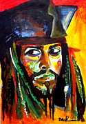 Captain Jack Sparrow Paintings - Sparrow by David Rogers