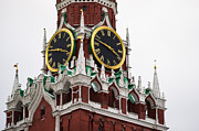 Chimes Prints - Spassky - Saviors - Tower Of Moscow Kremlin - Featured 2 Print by Alexander Senin