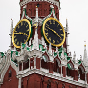 Chimes Photos - Spassky - Saviors - Tower Of Moscow Kremlin - Square by Alexander Senin