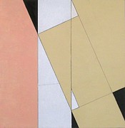 Rectangles Paintings - Spatial Relationship by George Dannatt