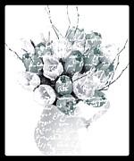 Speak Softly Tulips Print by Debra  Miller
