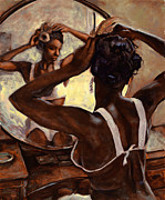 African-american Painting Metal Prints - Special Care Metal Print by Michael Orwick