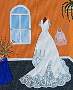 Bridesmaid Paintings - Special Day by Barbara Griffin