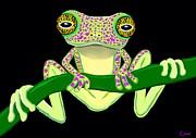 Nick Gustafson - Speckled Frog Hanging On