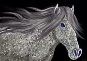 Stallions Digital Art - Speckled Stallion by Nick Gustafson