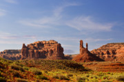 Spectacular Valley Of The Gods Print by Christine Till