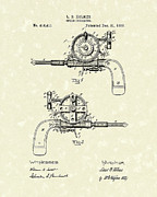 Speed Drawings - Speed Indicator 1889 Patent Art by Prior Art Design